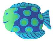 Fish Zeck The Fish - Pillowcase by Milo and Gabby